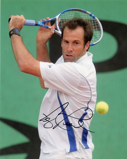 Greg Rusedski, signed 10x8 inch photo.